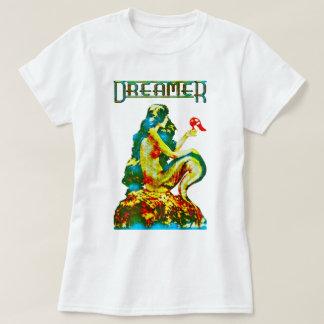 Camiseta Sereia do vintage do ~ do sonhador Re-Projetada