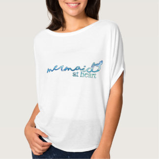 Camiseta Sereia no coração
