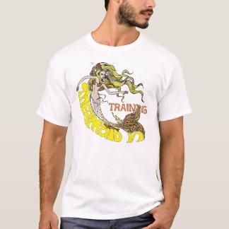 Camiseta Sereia no treinamento (louro)