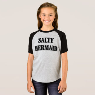 Camiseta Sereia salgado do design de Umsted