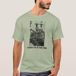 Camiseta Seres humanos para um Tibet livre