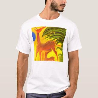 Camiseta Série de animais felizes