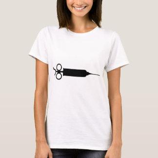 Camiseta Seringa do vintage