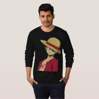 CAMISETA SERIOUS AND ANGRY LUFFY