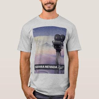 Camiseta Serra poster de viagens de Nevada