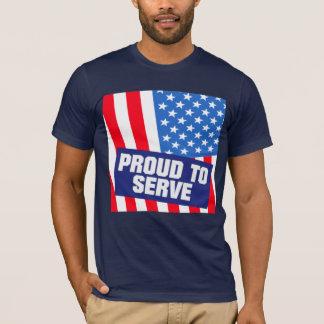 Camiseta Serviço militar dos EUA