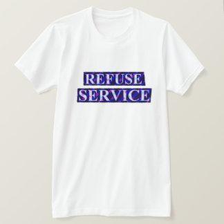 Camiseta Serviço T da recusa