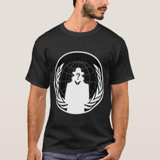 Camiseta Serviços de inteligência anónimos