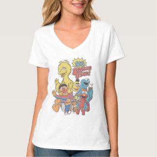 Camiseta Sesame Street 2 do vintage 123