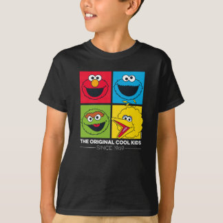 Camiseta Sesame Street | os miúdos legal originais