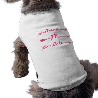 Camiseta Seta da phi da gama beta
