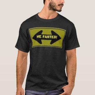 Camiseta seta de 2 sentidos, FARTED!