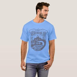 Camiseta Seta do acampamento, montanhas da região selvagem,