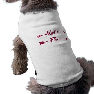Camiseta Setas alfa da phi |