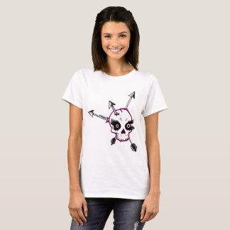 Camiseta Setas da senhora Crânio n