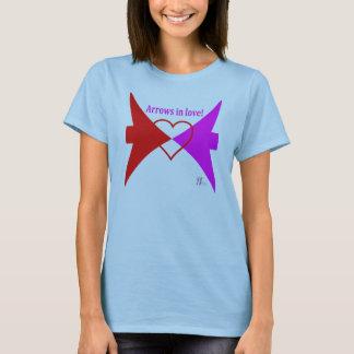 Camiseta Setas no t-shirt do amor