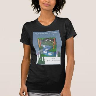 Camiseta Sete cisnes