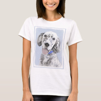 Camiseta Setter inglês (Belton azul)