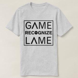 Camiseta Seu cinza reconhece o T