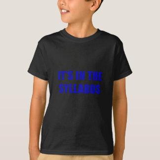 Camiseta Seu dentro o plano de estudos