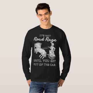 Camiseta Seu não t-shirt da raiva da estrada
