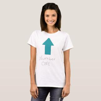 Camiseta Seu número um