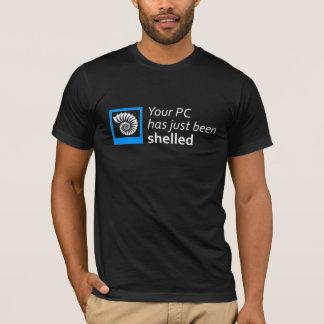 Camiseta Seu PC foi descascado apenas