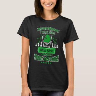 Camiseta Seu primeiro erro - t-shirt quente da xadrez