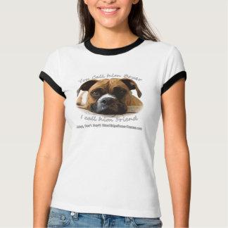 Camiseta Seu pugilista é seu amigo