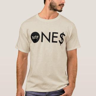 Camiseta Seu T marcado da areia