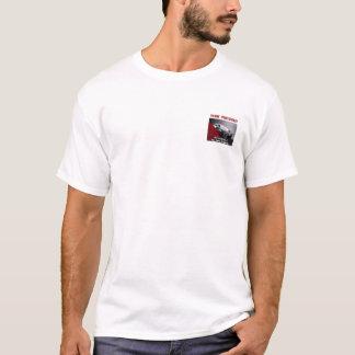 Camiseta Seu t-shirt do branco do carro do preto da empresa