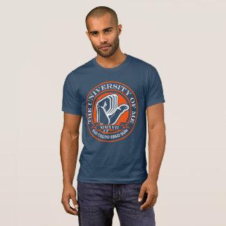 Camiseta Seu t-shirt do pescoço de grupo da universidade