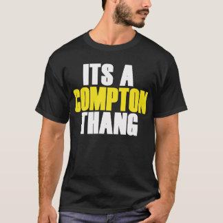 Camiseta Seu um Compton Thang