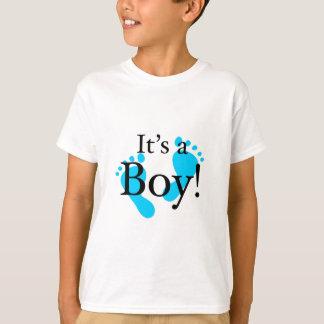 Camiseta Seu um menino - bebê, recém-nascido, celebração