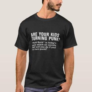 Camiseta seus miúdos estão girando o punk?