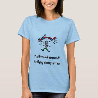 Camiseta seus todo o divertimento e jogos, é todo o