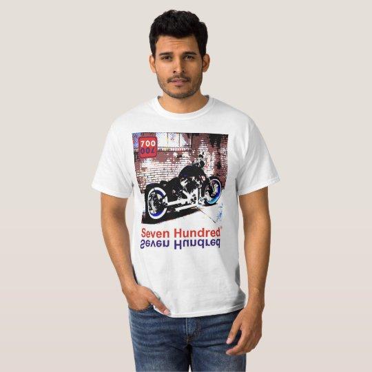 Camiseta Seven Hundred Motos Colorida