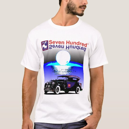 Camiseta Seven Hundred serie Carros