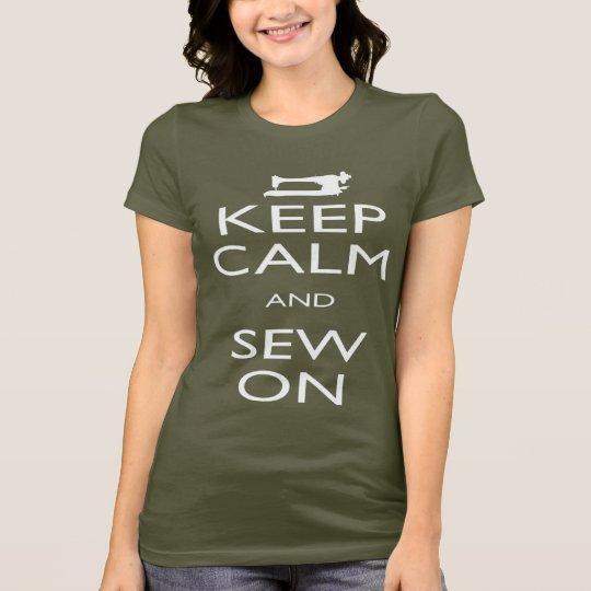 Camiseta Sew on