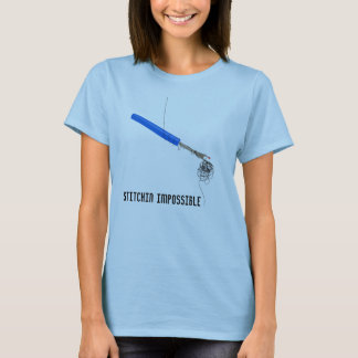 Camiseta Sewing impossível de Stitchin