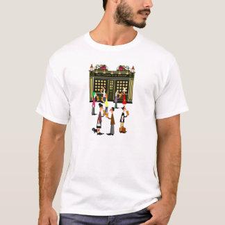 Camiseta Sexta-feira à noite na perspectiva de Whitby