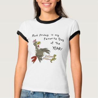 Camiseta Sexta-feira preta Turquia