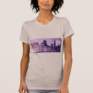 Camiseta SF roxo