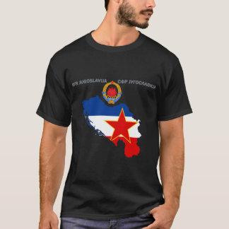 Camiseta SFR Jugoslávia - mapa - Emlem - t-shirt da