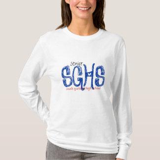 Camiseta SGHS, mais velho, segundo grau sul da festão