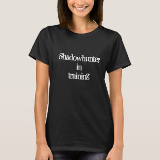 Camiseta Shadowhunter em treinar os instrumentos mortais