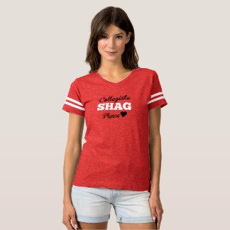 Camiseta Shag escolar por favor