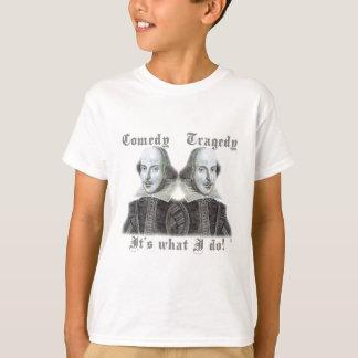 Camiseta Shakespeare - é o que eu faço!