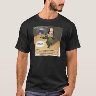 Camiseta Shakespeare toma Selfie engraçado
