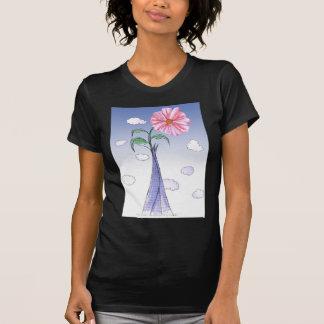 Camiseta ShardArt flower power por Tony Fernandes